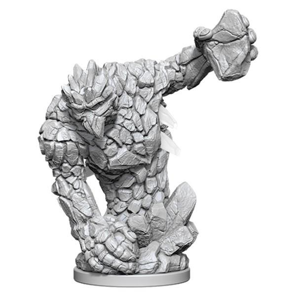 Pathfinder Deep Cuts: Unpainted Miniature Figures - Medium Earth Elemental