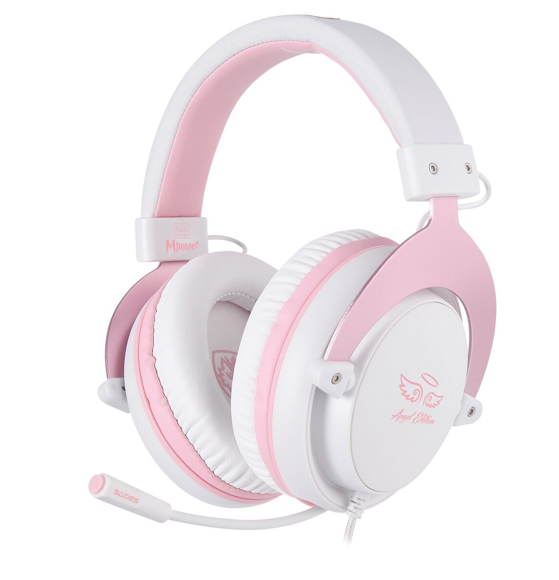 f0f22067a2c SADES M-Power Gaming Headset (Pink)   PS4   In-Stock - Buy Now   at ...