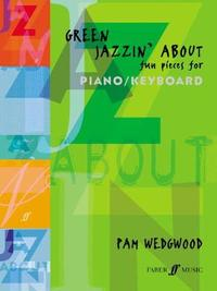 Green Jazzin' About Piano by Pam Wedgwood