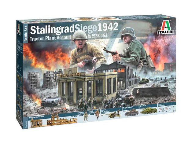 Italeri: 1/72 Stalingrad Siege 1942 Battle Set - Model Kit