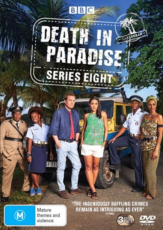 Death in Paradise - Season 8 on DVD