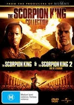 The Scorpion King/The Scorpion King: Rise Of A Warrior on DVD