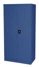 Proceed Steel Cupboard 3 Shelf - W900mm x D500mm x H1800mm (Dusk Blue)