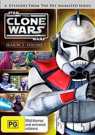 Star Wars: The Clone Wars - Season 3 Volume 1 on DVD image