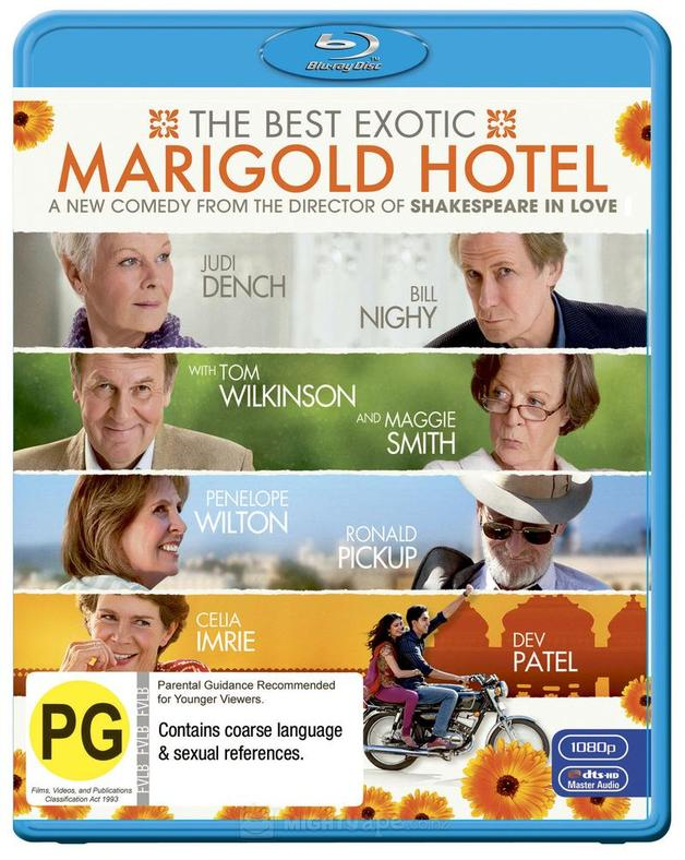 The Best Exotic Marigold Hotel on Blu-ray
