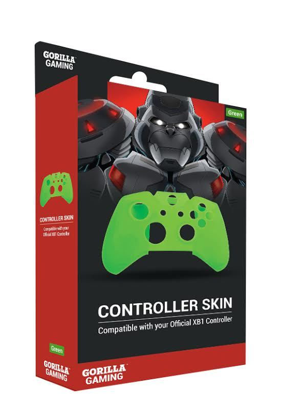 Gorilla Gaming Xbox One Controller Skin Green for Xbox One image