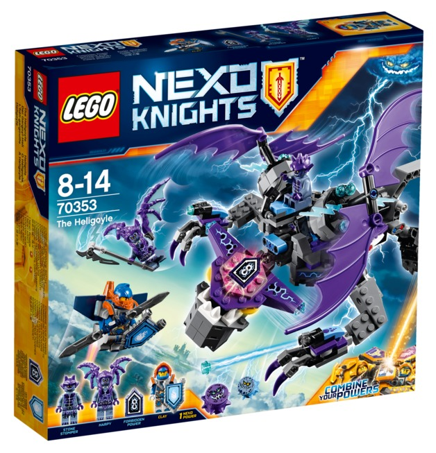 LEGO Nexo Knights - The Heligoyle (70353)