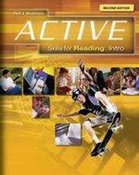 ACTIVE Skills for Reading Intro by Neil Anderson image