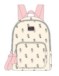 Loungefly: Disney Minnie Pastel Print - Mini Backpack