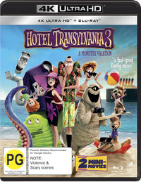 Hotel Transylvania 3: A Monster Vacation on UHD Blu-ray