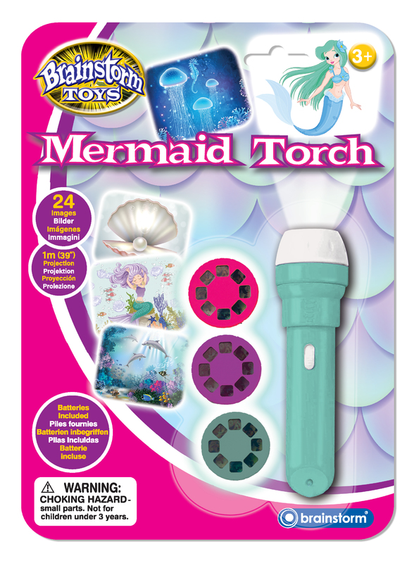 Brainstorm Toys: Mermaid Torch & Projector