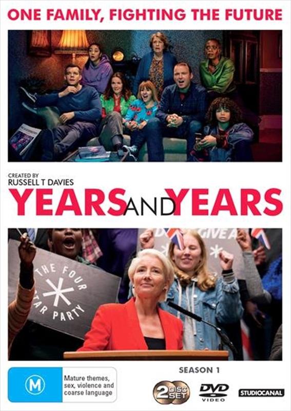 Years and Years: Season 1 - 2 on DVD