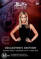 Buffy The Vampire Slayer Season 4 Vol 1 Collection on DVD