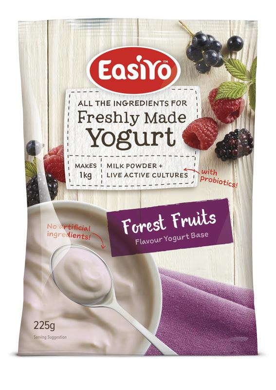EasiYo: Everyday Range Yogurt Base - Forest Fruits (225g) - 8-Pack