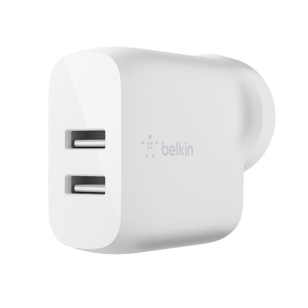 Belkin Dual USB-A Wall Charger 24W