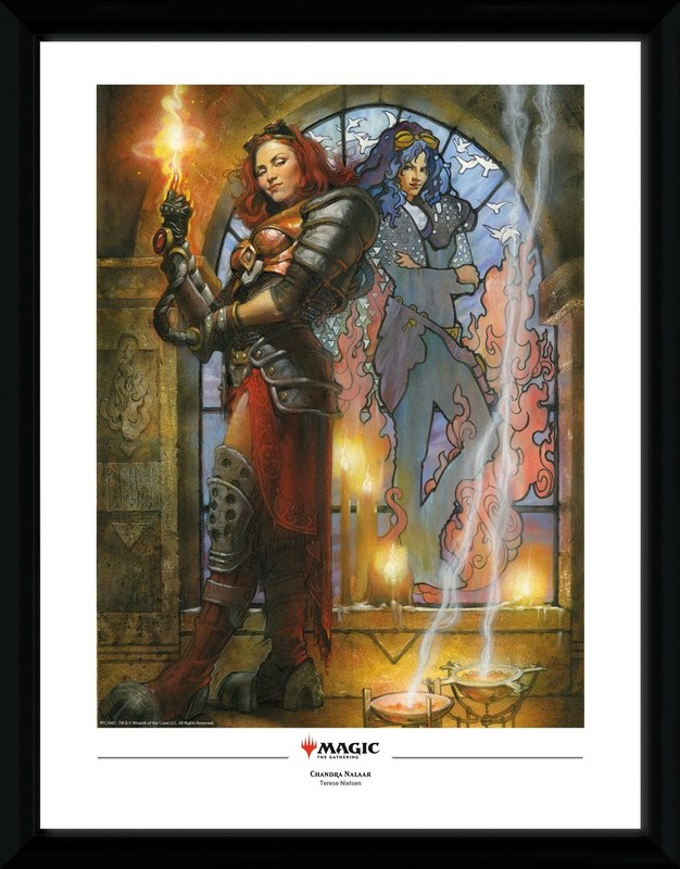 Magic The Gathering: Chandra Torch of Defiance - Collector Print (41x30.5cm)
