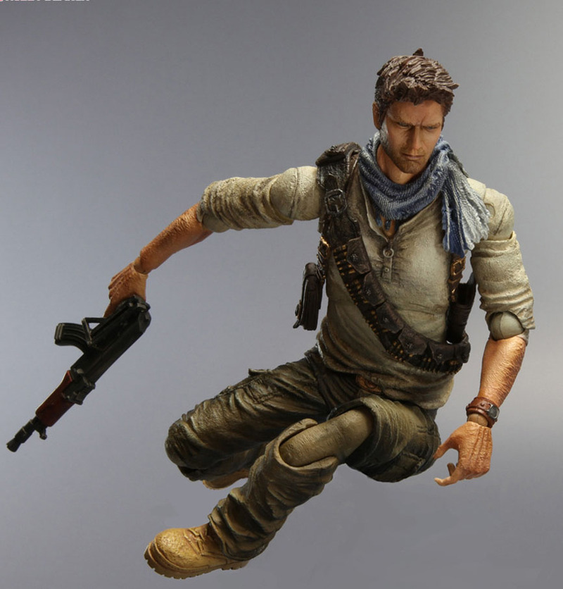 Uncharted 3 Play Arts Kai Action Figure - Nathan Drake image