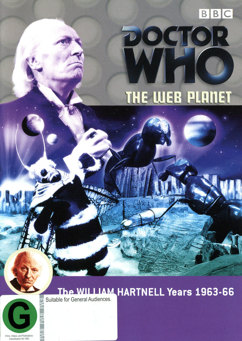 Doctor Who: The Web Planet on DVD image
