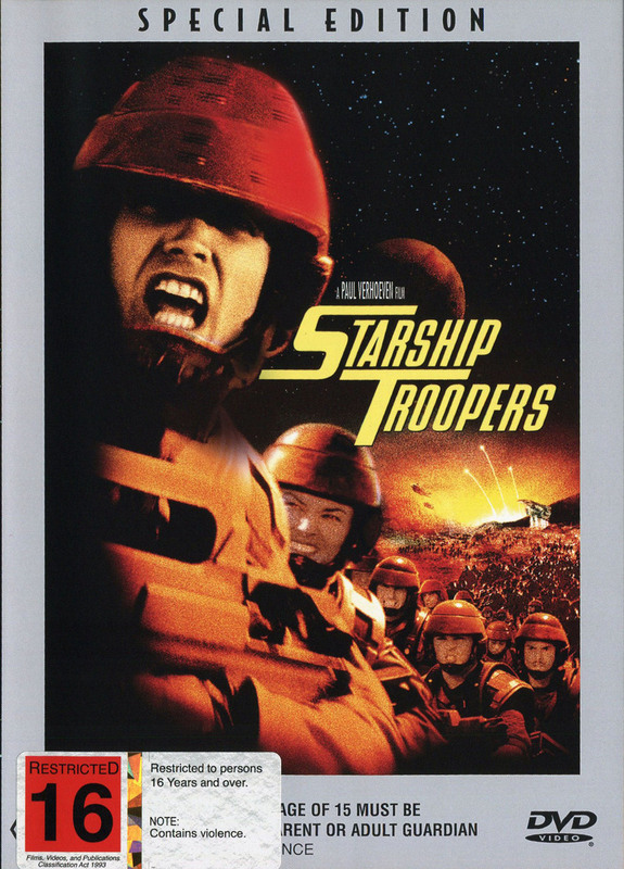 Starship Troopers on DVD