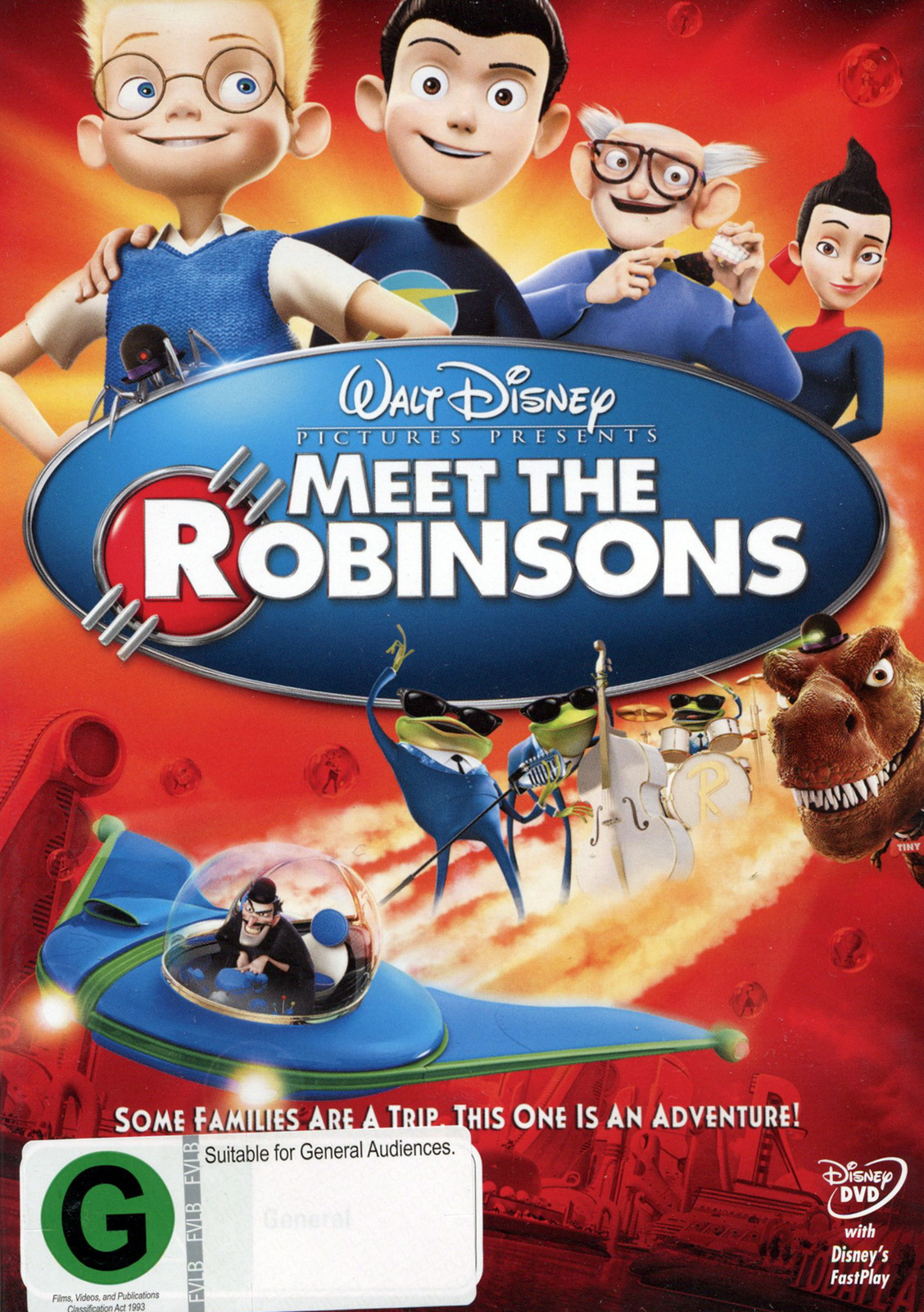 Meet The Robinsons on DVD image