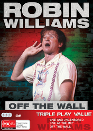 Robin Williams - Off The Wall (Triple Pack) on DVD