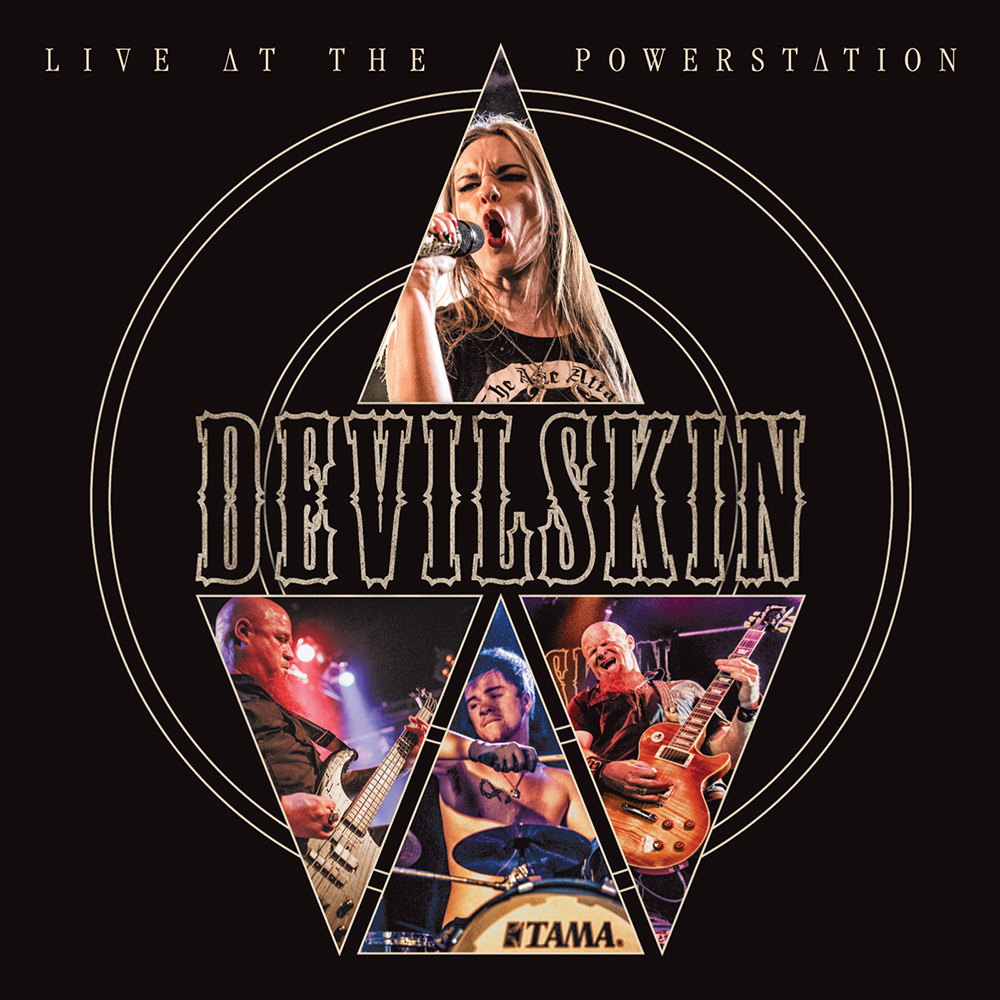 Live at the Powerstation (CD/DVD) by Devilskin image