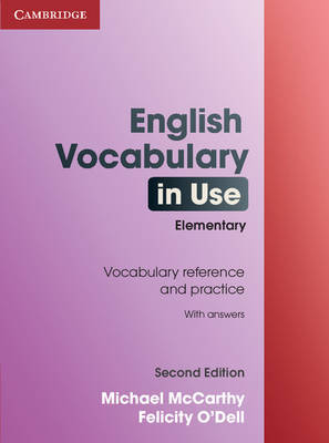 English Vocabulary in Use Elementary with Answers by Michael McCarthy image