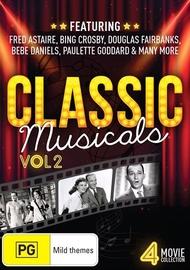 Classic Musicals - Volume 2 on DVD