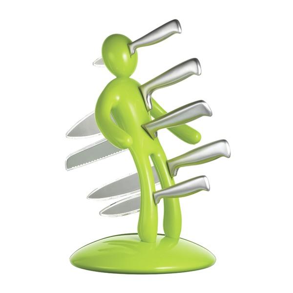 Raffaele Iannello: Voodoo II Knife Block (Apple Green) | at