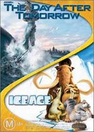 The Day After Tomorrow / Ice Age - Double Pack (2 Disc Set) on DVD image