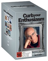 Curb Your Enthusiasm: Series 1-8 on DVD