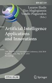 Artificial Intelligence Applications and Innovations image