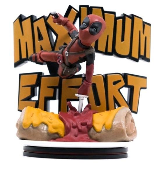Deadpool: Maximum Effort - Q-Fig Diorama