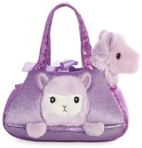 Aurora: Fancy Pal Pet Carrier – Peek A Boo Llama (Purple)