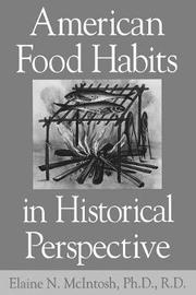 American Food Habits in Historical Perspective by Elaine N. McIntosh image