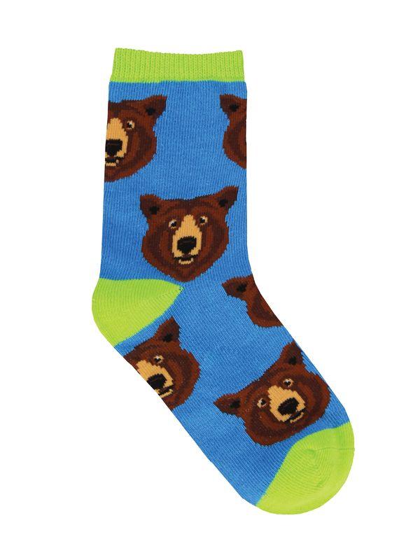 Socksmith: Kids Bear Hug - Blue (4-7 Years)