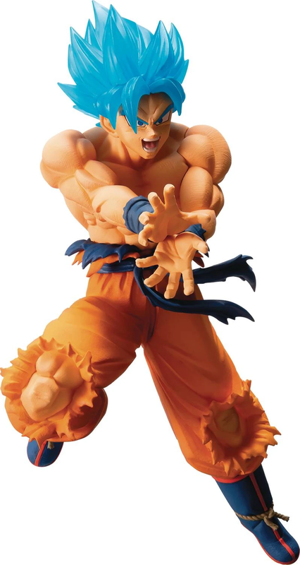 Dragon Ball Super: SSGSS Son Goku - PVC Figure