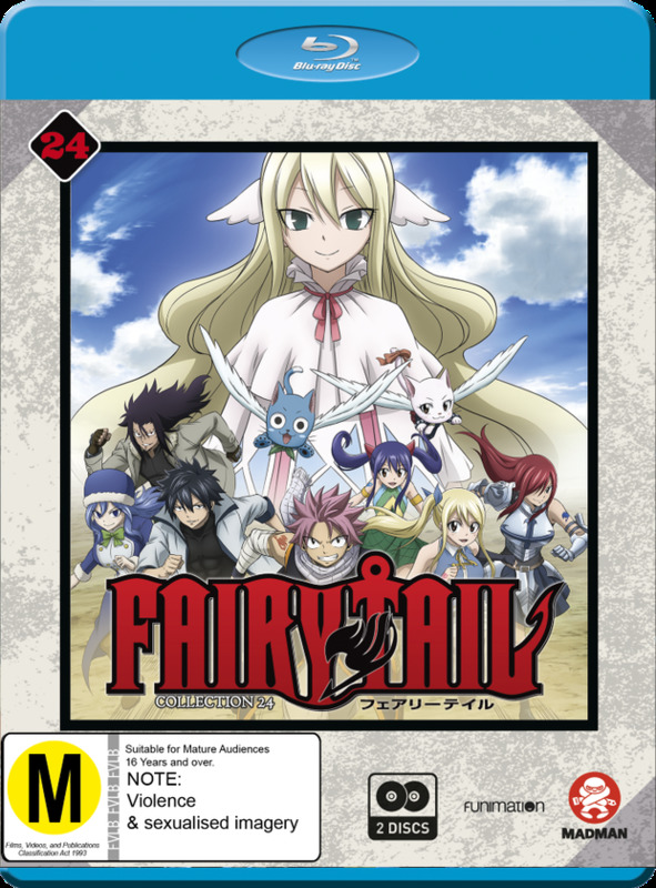 Fairy Tail: Final Season - Collection 24 (Eps 291-303) on Blu-ray