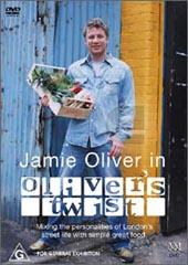 Jamie Oliver in Oliver's Twist on DVD