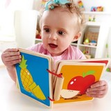Hape - Fruit Wooden Baby Book