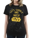 Let's Cuddle & Watch Star Wars T-Shirt (Large)