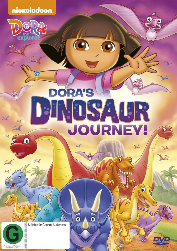 Dora The Explorer - Dora's Dinosaur Journey! on DVD