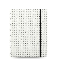 Filofax - A5 Notebook - Impressions (Black & White)