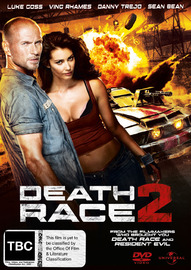 Death Race 2 on DVD