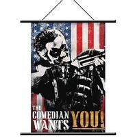 Watchmen Comedian Pop Art Wall Scroll image