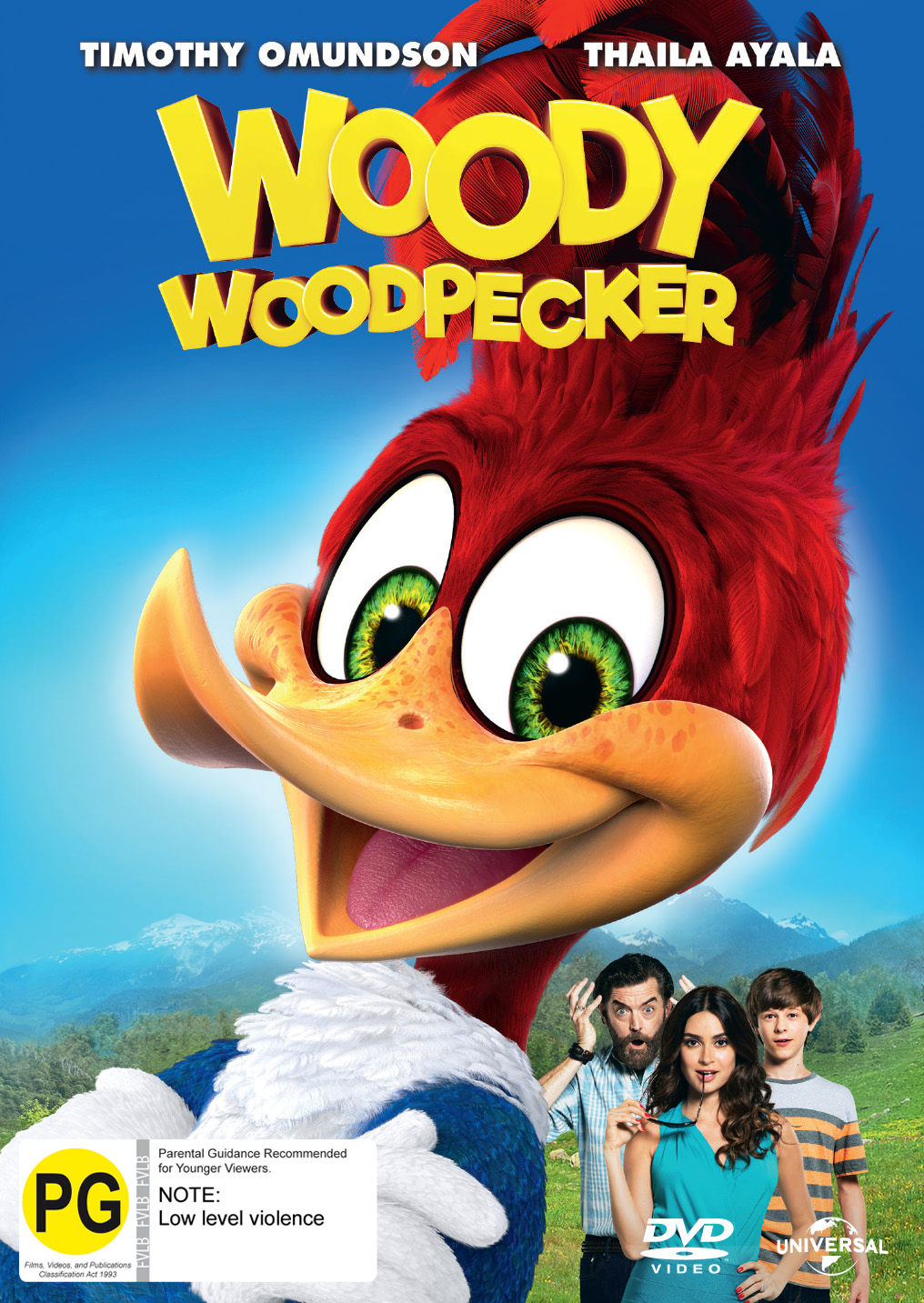 Woody Woodpecker on DVD image