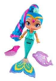 Shimmer & Shine: Rainbow Mermaid Bath Doll - (Shine)