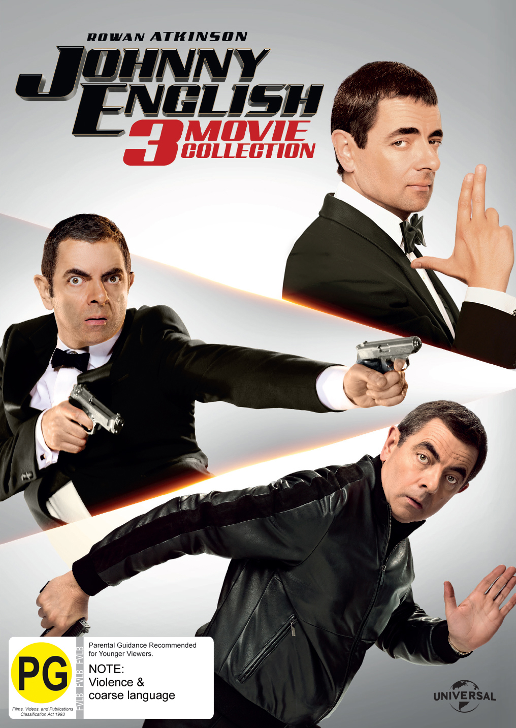 Johnny English: 3 Movie Pack on DVD image