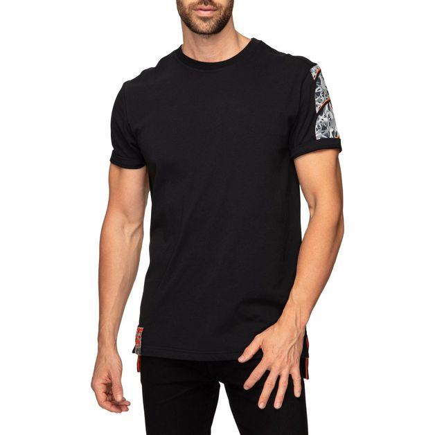 Canterbury: Mens Camo Logo Tee - Black (XXX-Large)