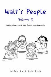 Walt's People- Volume 3 by Didier Ghez image
